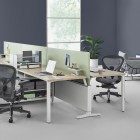 Aeron, Aeron Chairs with Canvas Office Landscape